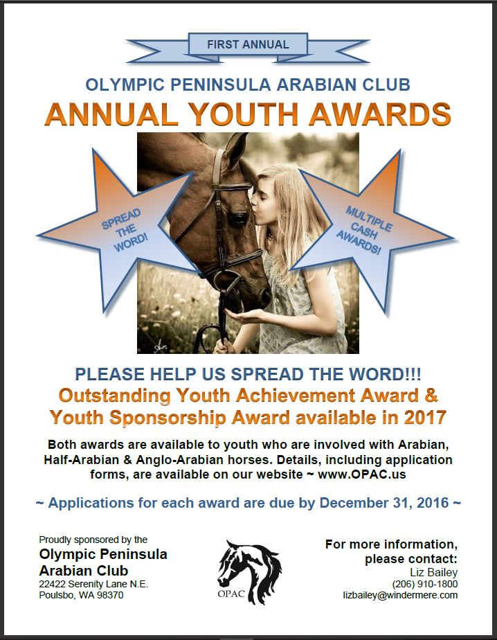 OPAC Youth Awards Flyer 2017
