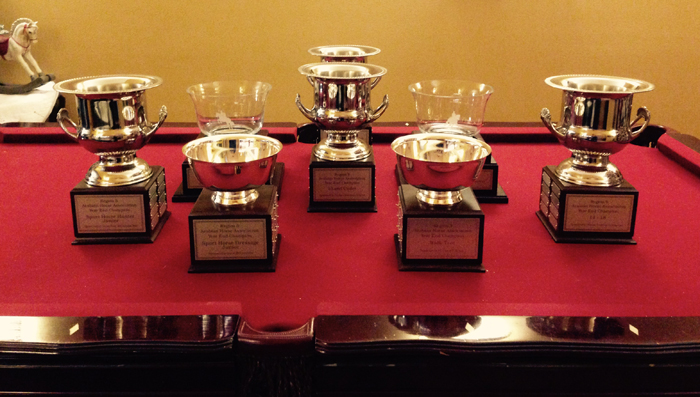 2015 year end high point perpetual trophies