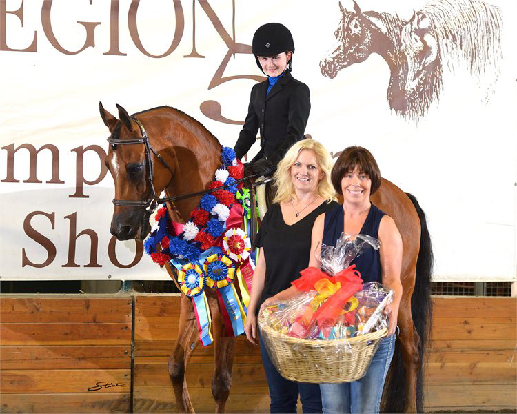 Bianca Massman Walk Trot Co Reserve Champion