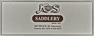 k and s saddlery