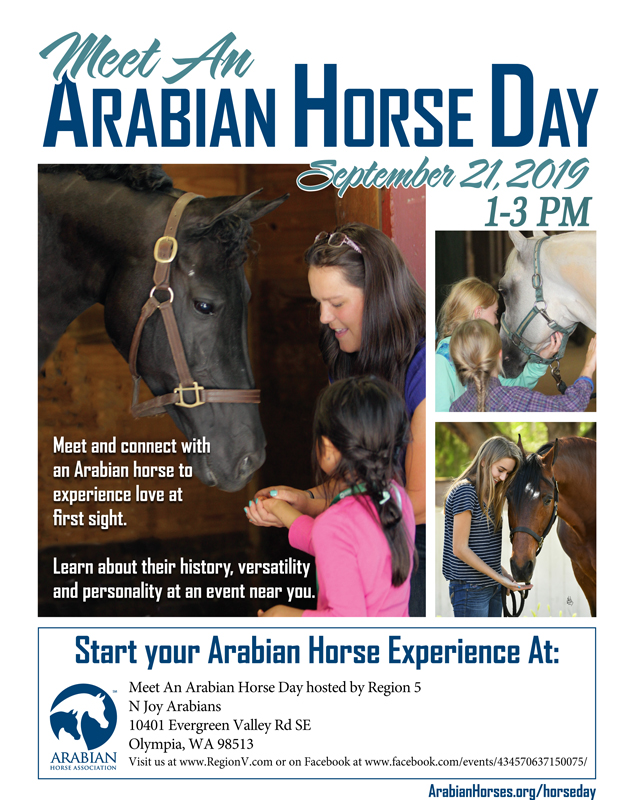 Meet an Arabian Horse Day